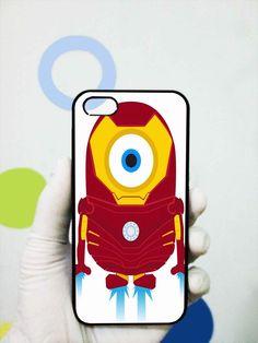 Despicable Minions Iron Man iphone 5 case