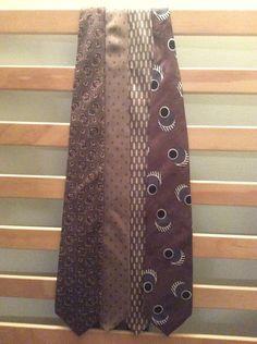 Vintage Silk Mens Ties lot (4) #NeckTie #Business
