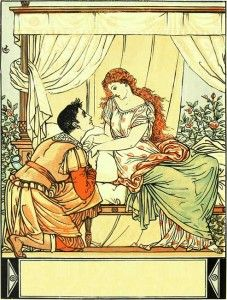 Sleeping Beauty Picture Book