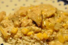 Orientalsk kylling i peanutbutter sauce med soya, sesam og kokosmælk