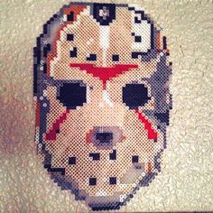 Jason Voorhees (Friday the 13th) perler beads by swordrangames