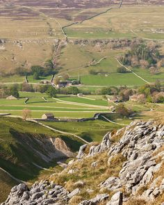 "wanderthewood: ""Littondale from Yew Cogar Scar - Yorkshire, England by matrobinsonphoto """