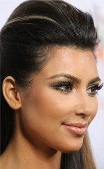 Kim Kardashian Inspired Makeup: Double Winged Eye Liner ♥