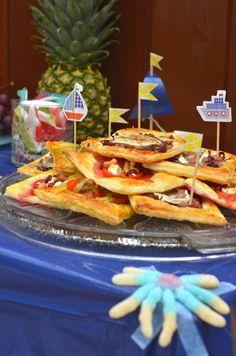Ninas kleiner Food-Blog: Sommerparty: Blätterteig, dreimal herzhaft belegt