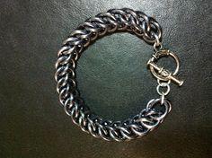 Black Ice HP 3 in 1 bracelet. Jewelry Ideas, Diy Jewelry, Jewelry Design, Ice, Bracelets, Silver, Black, Fashion, Charm Bracelets