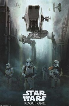 Star Wars Rogue One movie alternate movie poster available for sale at the movie poster warehouse online.