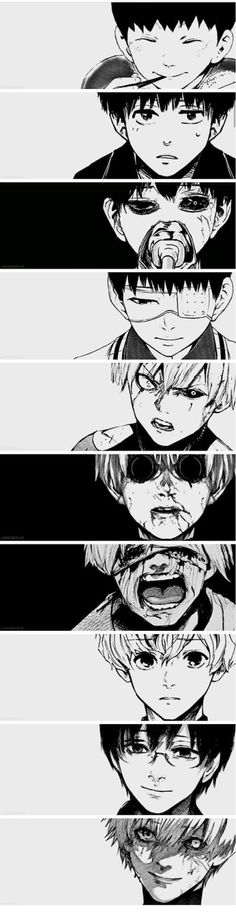 Oh, how Kaneki-kun had puberty hit him like a truck!!!