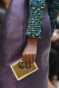 lovely colors & textures {#Burberry Prorsum #Spring2013 Ready-to-Wear Collection}