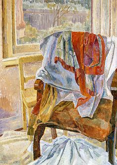 Grace Cossington Smith: Drapery - Chair and Window