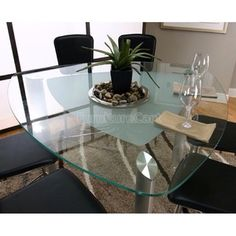 Triangle Glass Top Dining Table Set By Chintaly Imports. $1077.00. Designed  To Make More Than A Statement The Chintaly Tu2026 | Pinteresu2026