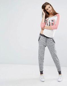 Abercrombie & Fitch | Зауженные спортивные штаны с логотипом Abercrombie&Fitch