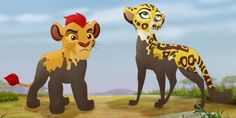 Kion and Fuli Lion King Simba's Pride, Lion King 2, Disney Lion King, Lion King Series, The Lion King 1994, Disney Channel, Disney Cats, Le Roi Lion, Kids Shows