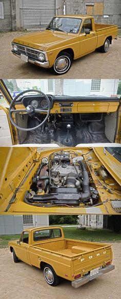 1974 Ford Courier I wish my little Nissan was this clean. 1974 Ford Courier I wish my little Nissan was this clean. Small Trucks, Mini Trucks, New Trucks, Cool Trucks, Pickup Trucks, Ford Classic Cars, Classic Trucks, Ford Lincoln Mercury, Gas Monkey