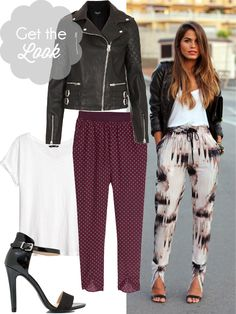 How to wear the soft pant {thefashionenthusiast}