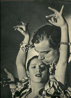 LOLA FLORES Y MANOLO CARACOL REVISTA CAMARA 15 DE MAYO DE 1944 (Cine - Revistas…