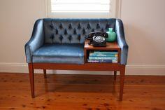 My vintage retro telephone table / chair