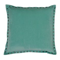 The perfect accent pillow, the payton velvet pillow is available in multiple shades is a great way to add extra touches without taking the spotlight away from the rest of your decor.