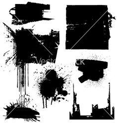 Free Vector | Grunge blocks vector 635 - by Robot on VectorStock�