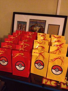 Pokemon Party Favor Bag