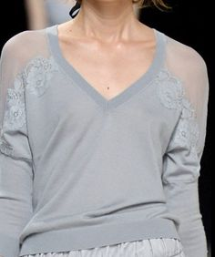 Decorialab Trend Report - Knit and Fabric Mixed S/S -  2014 - Nina Ricci