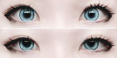 Japanese makeup | Doll inspiration | Circle lenses | lashes