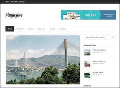 Magazine – Responsive Magazine WordPress Theme