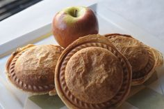 Chef Emily Sprissler's Sausage, Apple, & Cheddar mini pies at Mayfair & Pine