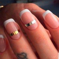 Gorgeous French Nail Designs 16