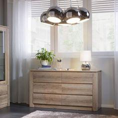 Trendige Kommode in Grau - geradlinig, stilvoll und praktisch Dresser As Nightstand, Sideboard, Modern, Vanity, Bathroom, Table, Furniture, Rooms, Home Decor