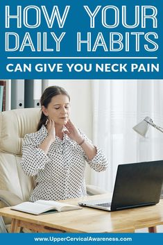 Since your neck is a very flexible region of the spine, it is also highly susceptible to wear, tear, and injury that can cause neck pain. Upper Cervical Chiropractic, Cervical Vertebrae, Neck Problems, Neck Pain Relief, Small Pillows, How To Relieve Stress, Challenge, Health Tips, Wellness