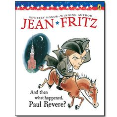 I love any Jean Fritz history book