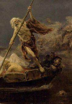 Caronte el barquero