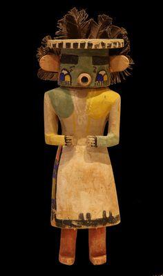 Hopi Germination Deity Katchina, c.1920/1930 - Sherwoods American Indian Art and Artifacts - Santa Fe, NM