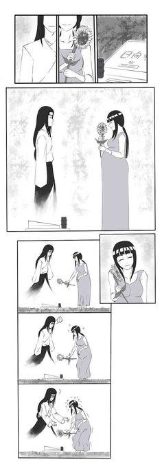 1 | Komik Naruto FanArt | Makam Neji Hyuuga