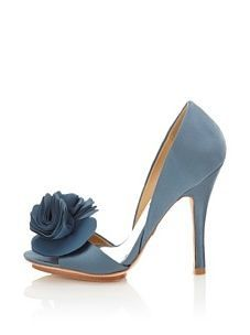 Badgley Mischka Women's Randall d'Orsay Pump. Badgley Mischka creates some of the the most gorgeous shades of blue I've ever seen...shoes, RTW, gowns. Amazing.