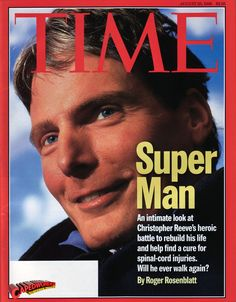 Christopher Reeve (September 25, 1952 – October 10, 2004)