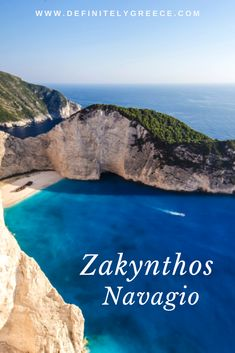 Navagio in Zakynthos island! One of the most iconic beaches and a gem to the world. Unbelievably picturesque with blue waters and a history that attracts! Mykonos Island, Crete Island, Island Beach, Beaches In The World, Countries Of The World, Travel Expert, Travel Guides, Thessaloniki, Greece Travel