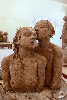 "Jurga Sculpteure. (For more ceramics art see my board ""ceramics porcelain art). Irit"