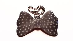 Black Polka Dot reflector Safety, Polka Dots, Stripes, Bows, Pink, Accessories, Black, Security Guard, Arches