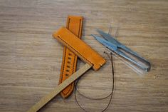 Handmade leather watch strap high quality Japanese vegetable