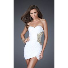 Cute White Short Homecoming Dresses/ Pleated Prom Dresses for Homecoming