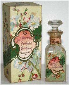 california perfume company crab apple blossom perfume 1913