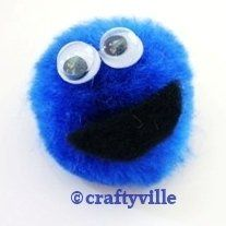 * * * Girl Guide SWAPS (or Hat Crafts) * * * Cookie Monster ----- DONE. Worked Great