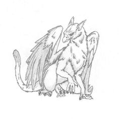 SciFi and Fantasy Art Gryphon by Laura G. Helwig