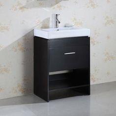 Allen Roth Espresso Contemporary Bath Vanity Inch Width - Bathroom vanity 21 inches wide for bathroom decor ideas