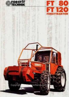Tractorbrochures.com/Steyr 8000 - Series Steyr, Tractors, Monster Trucks