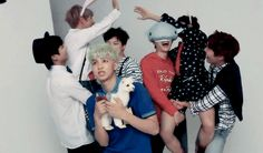 I don't think rapmon signed up for all this xD << just a normal day in the life of Bangtan...
