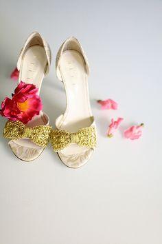Glitter zapatos