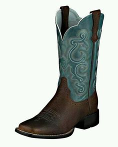 Teal cowgirl boots these are the ones I am buying soon:)