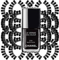 Chanel Cult Colors. A story of Nail polish. Colour: Black Satin